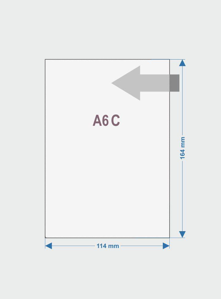 08.Obwoluta A6 otwarta po dłuższym boku C