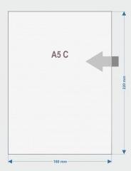 06.Obwoluta A5 otwarta po dłuższym boku C