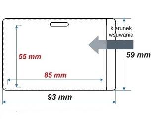 ID 4M Kieszonka na kartę magnetyczną